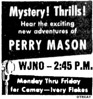 Perry Mason (Poor Sound Quality)