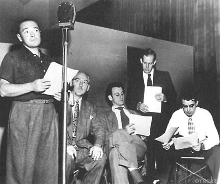 Cast of Mystery in the Air Old Time Radio Show