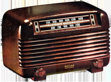 Philco Radio 1948