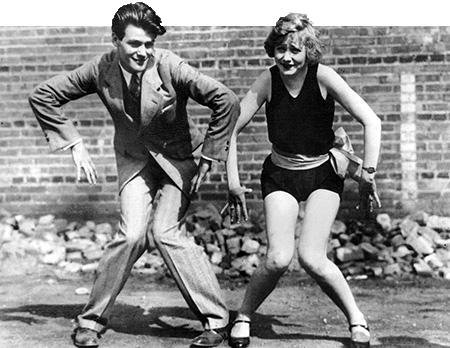 Charleston 1920s dance