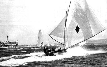 1930s Racing Boat