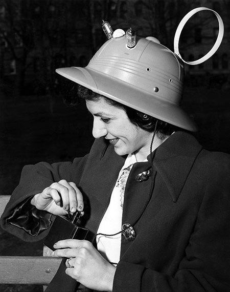 Radio Hat 1949