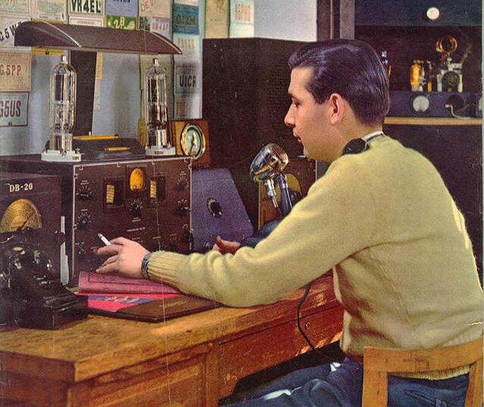 Ham Radio Operator 1946