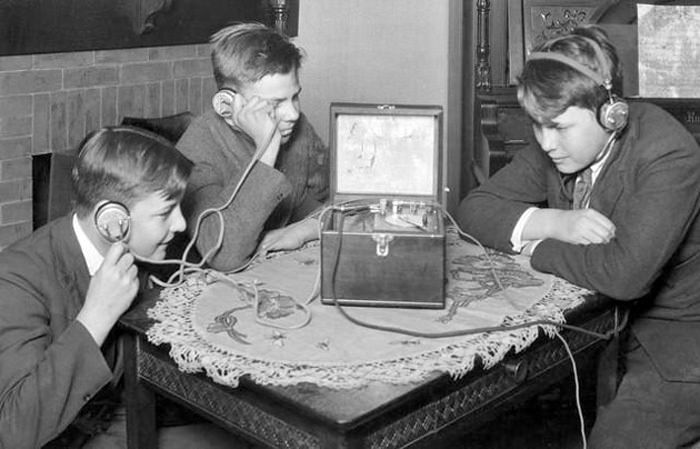 Listening to the Radio 1921