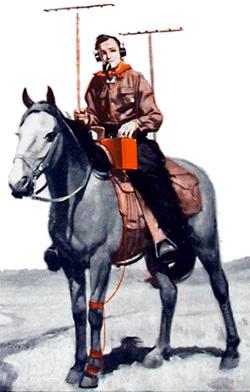 Radio on a Horse
