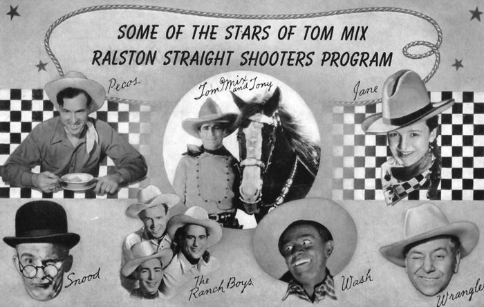 Tom Mix and His Ralston Six Shooters