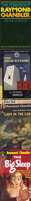 Raymond Chandler and books