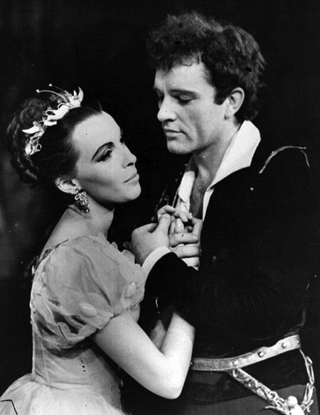 Claire Bloom & Richard Burton