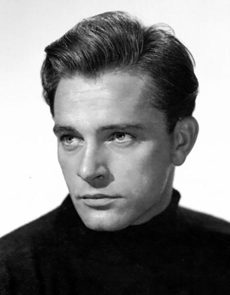 Richard Burton, young