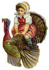 Riding Turkey