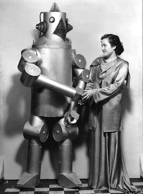 Robot & Woman