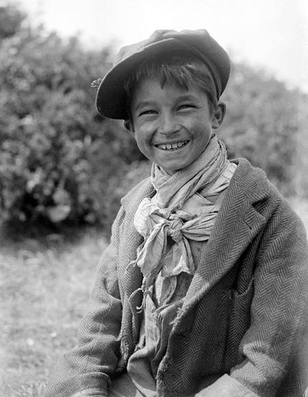 Romani Gypsy Boy 1940s