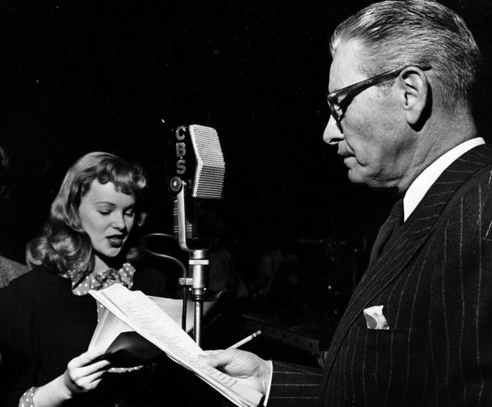 Ronald Colman and Peggy Cummins performing The Late George Apley on (I believe) The Screen Guild Theater in early 1948