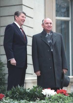 Ronald Reagan Gorbechev