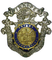 Rotary International pin