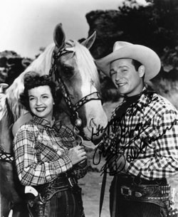 Dale and Roy Rogers