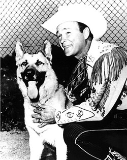 Roy Rogers and Bullett