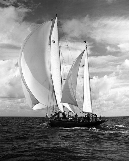 Sailboat 1950s