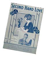 Sheet Music Second Hand Love
