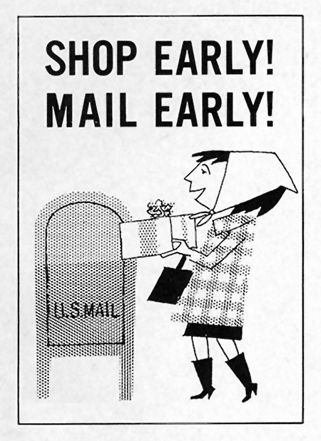 Shop Early Mail Early