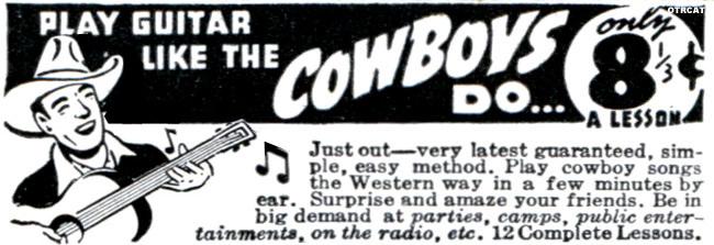 Play Guitar like the Cowboys Do
