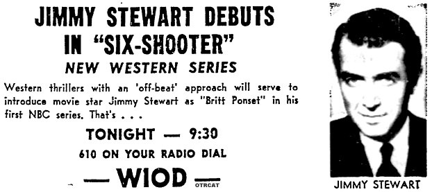 Six Shooter Starring Jimmy Stewart
