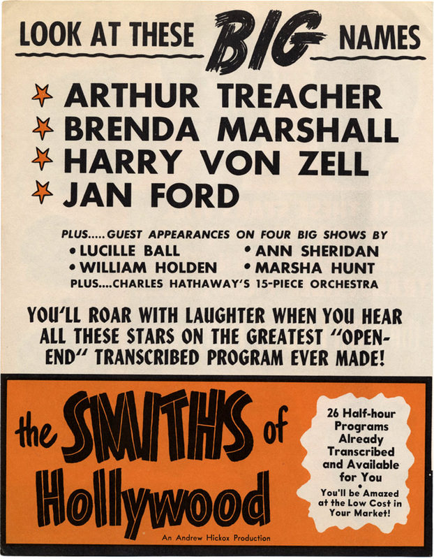 Smiths of Hollywood