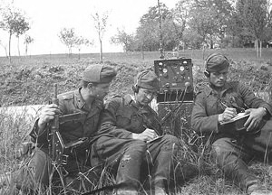 Soldiers in the Field with Radio ...