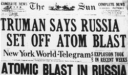 Solviet Atomic Bomb 1949