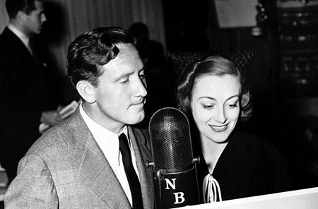 Spencer Tracy and Joan Crawford