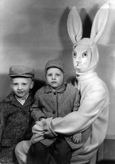 Spooky Easter Bunny