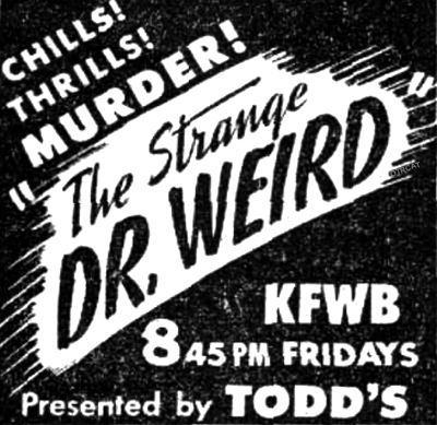 Strange Dr Weird