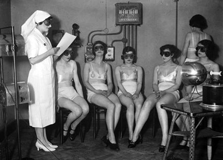 Sunray Therapy 1920s