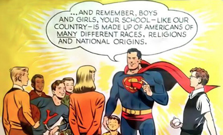 Superman is not a racist