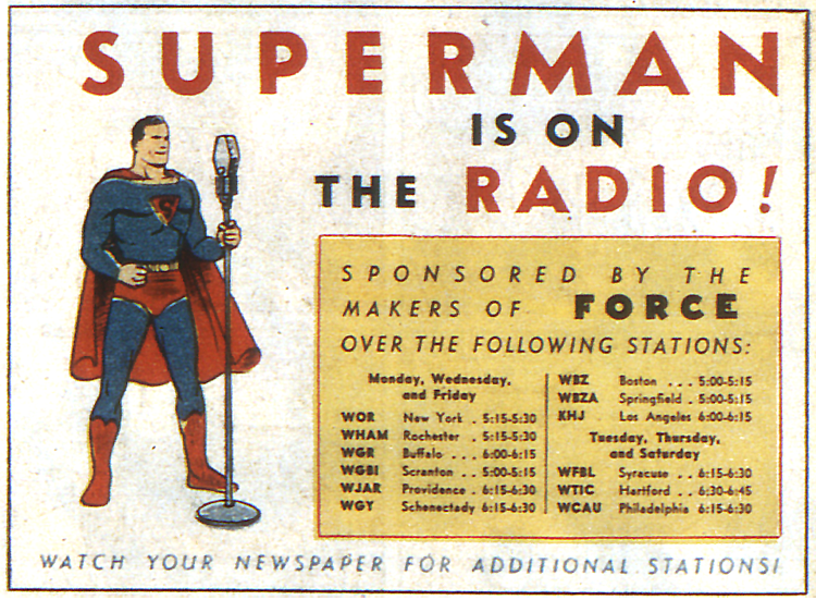 Superman on the Radio