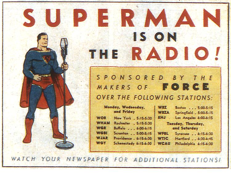 Superman on the Radio