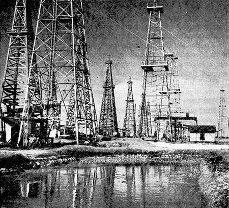 Texas Oil Field 1952