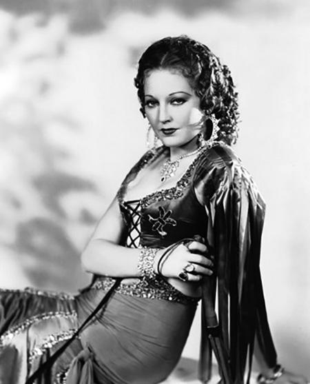 Thelma Todd Gypsy costume 1930s