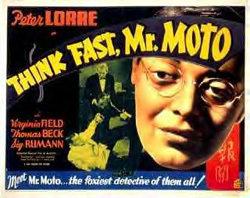 Mr Moto Lobby Poster 1937