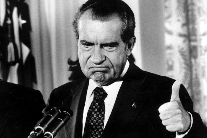 Thumbs Up Nixon!