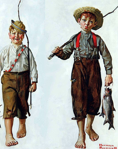 Tom Sawyer Illustration