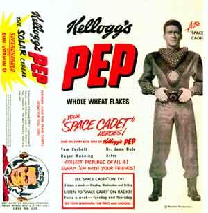 Kellogg's PEP sponsor of Tom Corbett