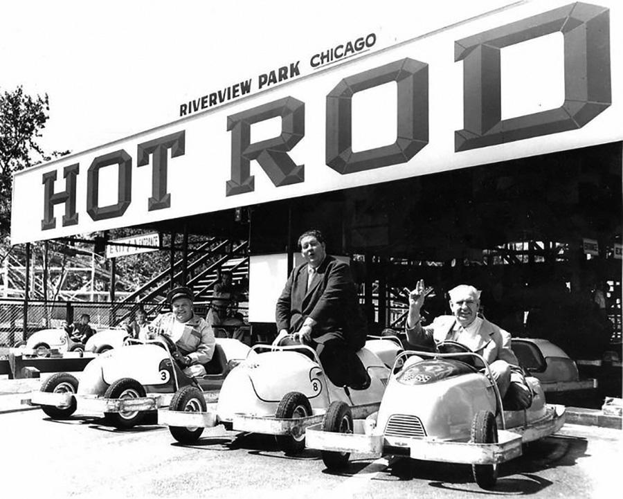 Two Ton Baker at Chicago Fun Grounds