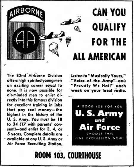 1947 Advertisement