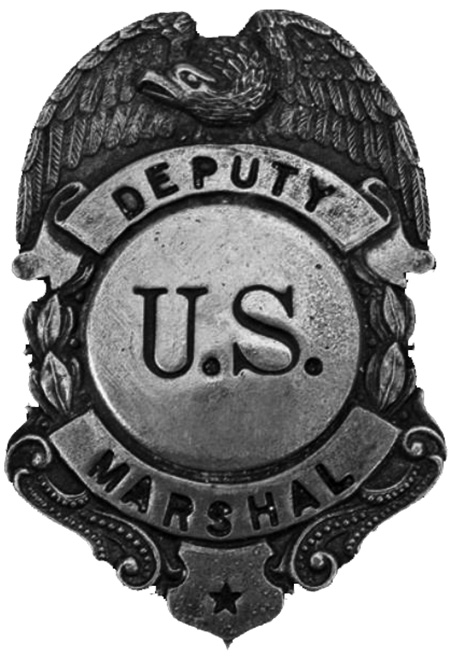 US Marshall Badge