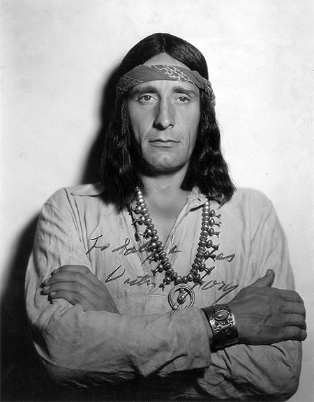 Victor Jory as an Indian