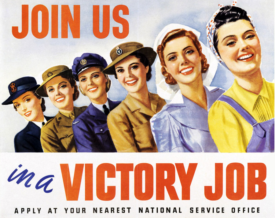 Victory Jobs for Women