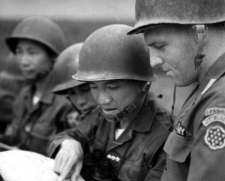 1955 Vietnam MAAG soldier
