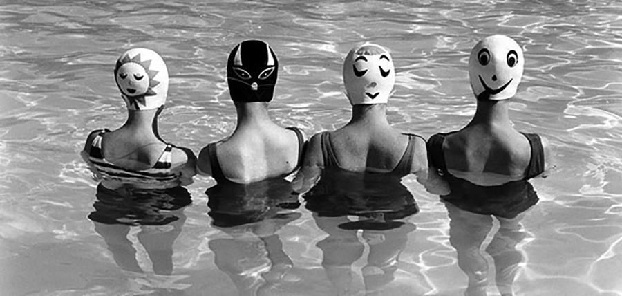 Vintage Swimcaps