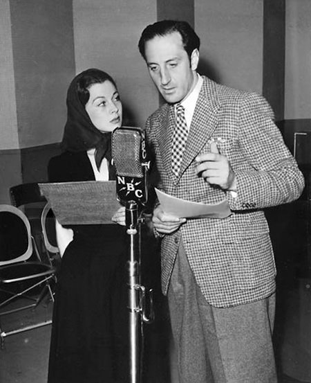 Vivien Leigh and Basil Rathbone